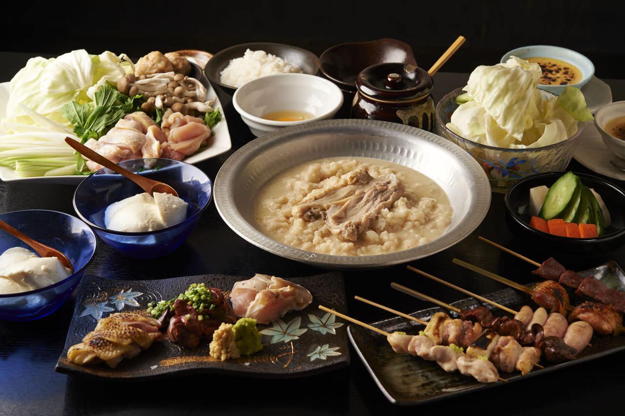 とりいちず 新横浜JEMS店の鶏料理が満喫できるコース